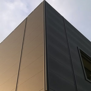 Nuova facciata lattoneria