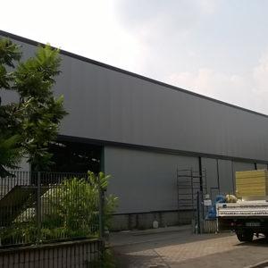 Nuova facciata industria Saronno